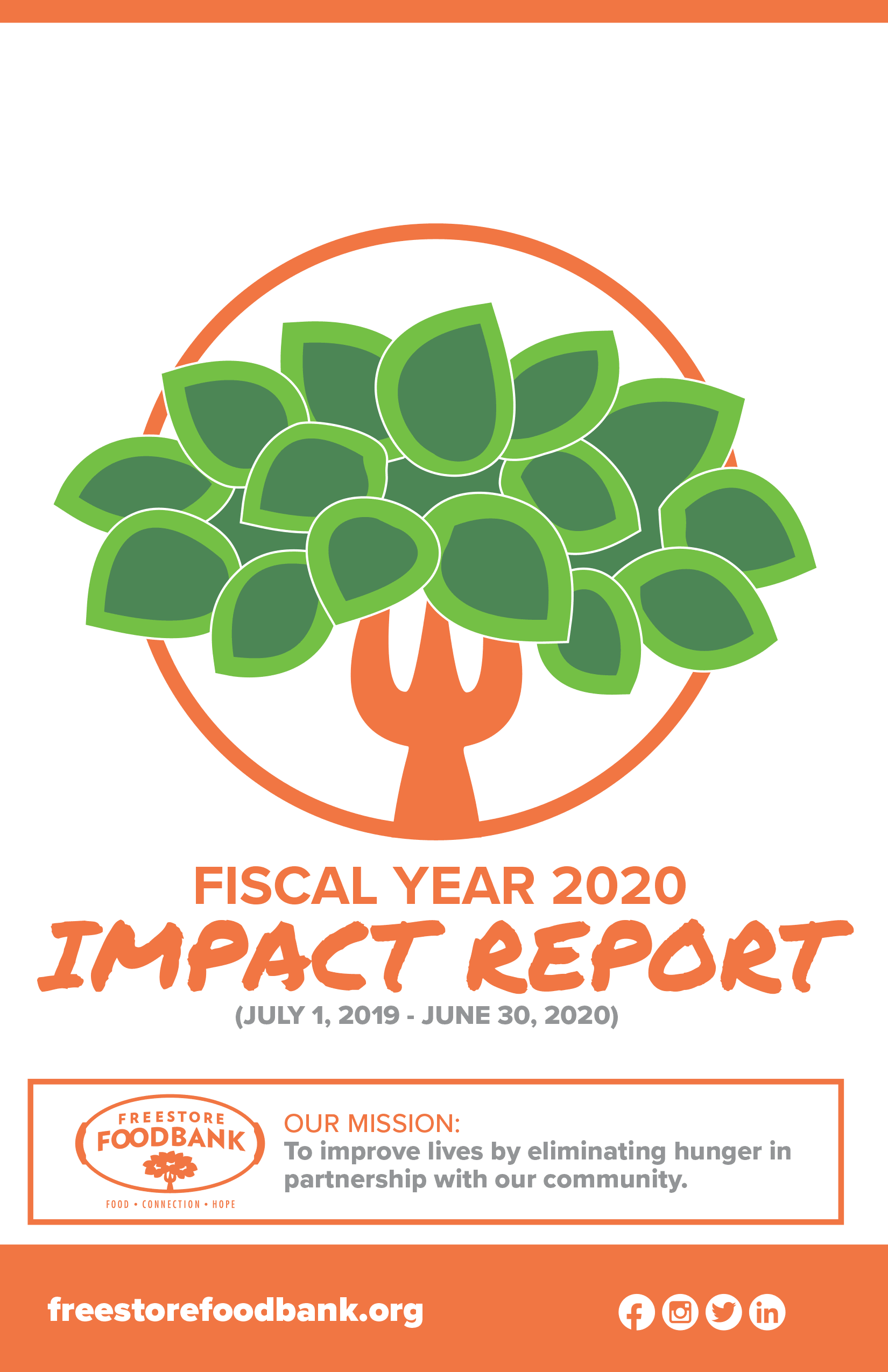 Fiscal Year 2020 Impact Report- Factsheet