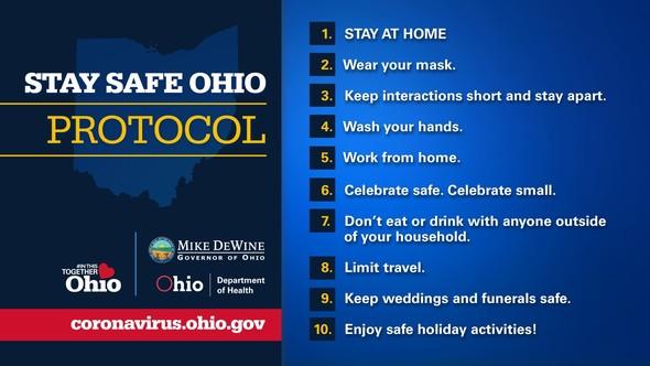 Stay Safe Ohio Protocol